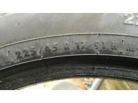 4 x Continental Winter Tyres 225 45 R17