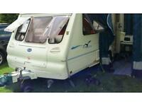 Bailey Ranger 2 berth Caravan 2002