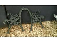 cast iron seat ends
