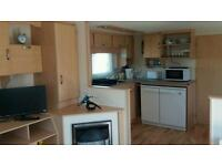 Excellently presented caravan for hire near the coast at Great Yarmouth Norfolk sleeps 8