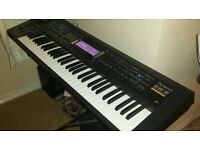 Roland GW-8 Workstation Keyboard excellent condition..Pro 1 man Band arranger..plus stand