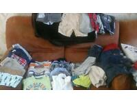 Baby boys designer clothes bundle ages 6-9 9-12
