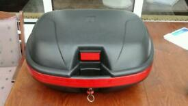 Motor cycle top box