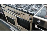 Original leisure professional range master dual fuel 1100wide cooker