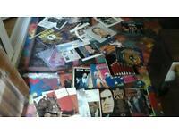 Aprox 100 vinyl lps Johnny Cash, sinatra rock n roll good lot