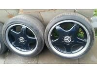 "Genuine 17"" AMG Alloys Mercedes SLK CLK A B C Class"