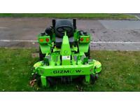 Gizmow Formula Ride on lawnmower