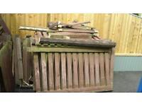 Fencing slats 900 x 75 x 22