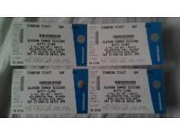 Biffy Clyro tickets x4