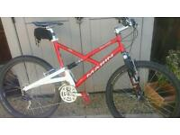 Marin East peak mountain bike..