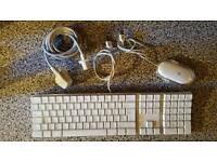 apple mac computer/mouse/power lead (secondhand)