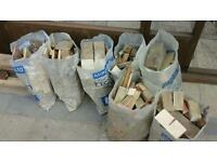 FREE - - - 7 BAGS OF FIRE WOOD - - - COLLECTION ONLY - - - FREE
