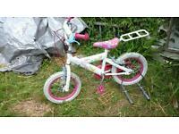 Girls kids kitten pedal pets bike