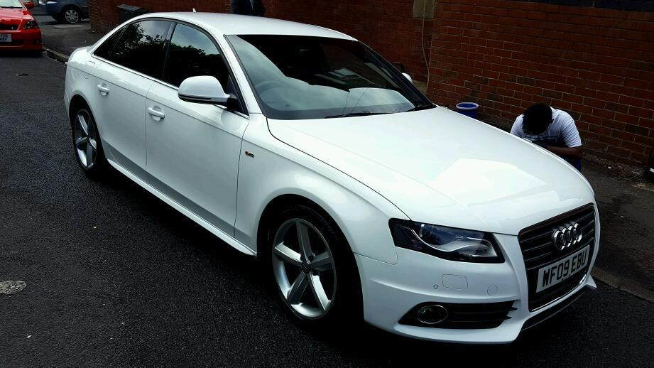 audi a4 s line 2009 full audi service history in oldham. Black Bedroom Furniture Sets. Home Design Ideas