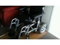 DAYS powered wheel chair.