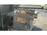 Wilsons 3phase table saw