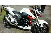 suzuki gsr 750 12 reg 1450 miles thousands spent
