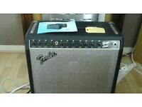 Vintage early 1980 s fender stage lead amp 100 watt made in usa