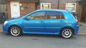Toyota Corolla 1.6 SR Rare blue £2300 ono