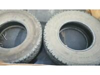 Pajero Tyre's