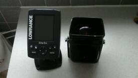 Lowrance Marine fish finder and compass