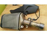 Kawasaki zx 6r r9f. Exhaust end can