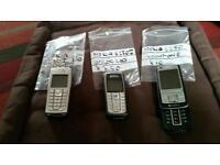 joblot x3 nokia mobile phones