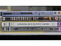 Brand new, unopened DVDs for sale (London 2012 Olympic Games, etc)