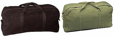 Military Tanker Tool Bags   Canvas Mechanics Painters Contractors Tool Bags