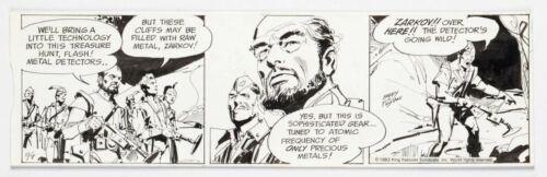 FLASH GORDON Daily Comic Strip Original Art 11-7-1983 by DAN BARRY +BOB FUJITANI