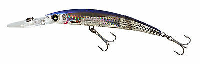 Yo Zuri Crystal Minnow Deep Diver 3D Minnow Jointed Mullet Lure 5 1 4  F1052 Hmt