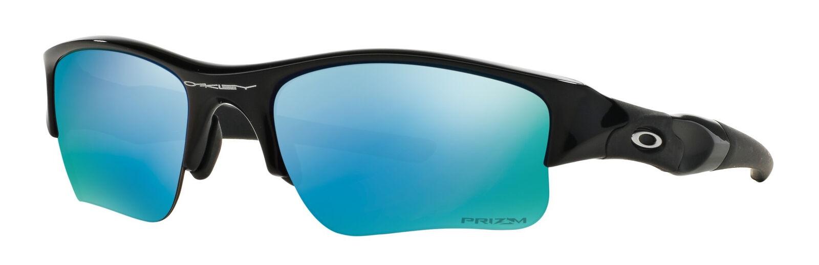 29294951875 Oakley Flak Jacket XLJ Prizm Deep H2o Polarized Sunglasses