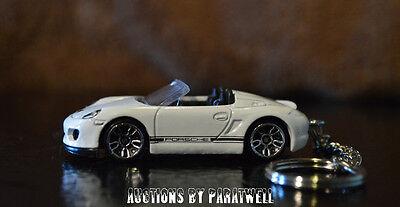 10 '11 '12 '13 Porsche Boxter Spyder 1/64 Custom Keychain FOB Porte Cles Llavero