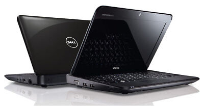 "10.1"" LED DELL INSPIRON Mini 1018 Laptop Notebook Windows 7 + WEBCAM + FREE S/H"