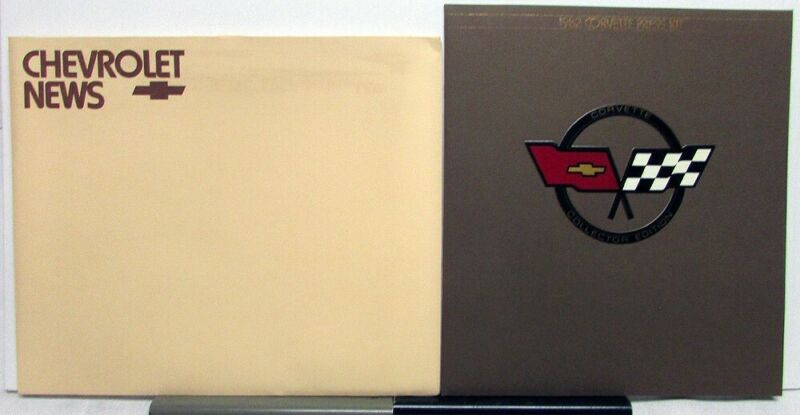 1982 Chevrolet Corvette Collector Edition Press Kit with Envelope