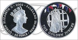Falkland-Monedas-Conmemorativas-Ano-2002-numero-KM00082a-1-PROOF-50-Peni