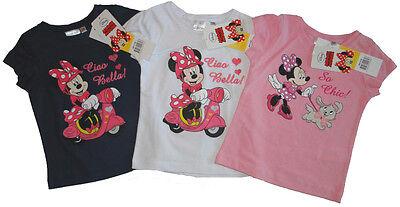 Disney Minnie Maus T-Shirt für Mädchen Kleinkind Mouse Roller Hund kurzarm Shirt