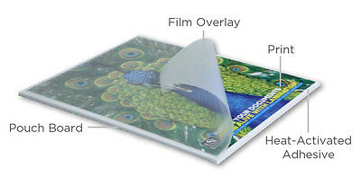 Usi Promount Heat-activated Pouch Foam Boards Satin 25x37 316 Black 10box