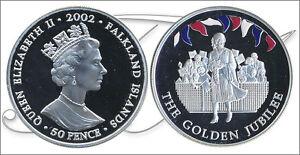 Falkland-Monedas-Conmemorativas-Ano-2002-numero-KM00076a-1-PROOF-50-Peni