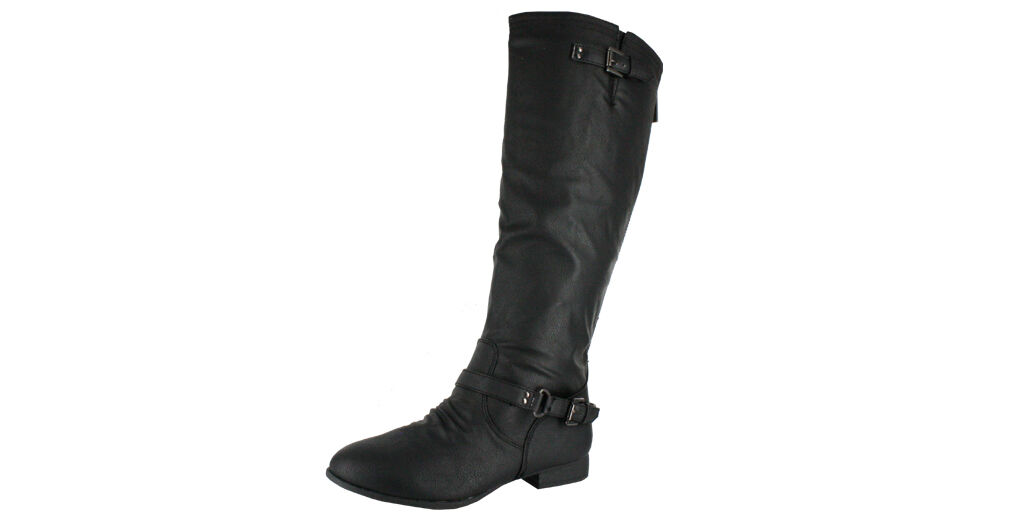 WOMENS TOP MODA COCO-1 BLACK RIDING BOOTS