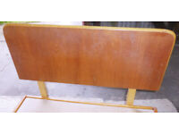 """Bed Frame / Single Bed Frame / Wood Bed Frame / Wooden Bed Frame / Head Board / 3'0"""" X 6'3"""" / Bed"""