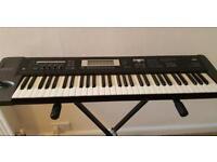 Korg TR 61 synthesiser keyboard