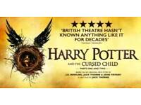 2 x Harry potter and the cursed child 29 Oct Grand Circle Row A