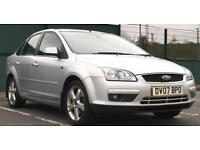2007 FORD FOCUS 2.0 TDCi GHIA *SALOON* *LOW MILES* *HEATED LEATHER SEATS* *RARE CAR*