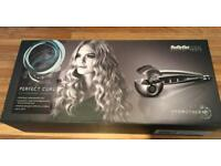 REDUCED BaByliss PRO perfect curl with hydrotherm technology