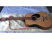 Child's acoustic guitar