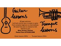 Trumpet/Guitar lessons