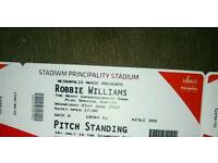 Tickets for Robbie Williams