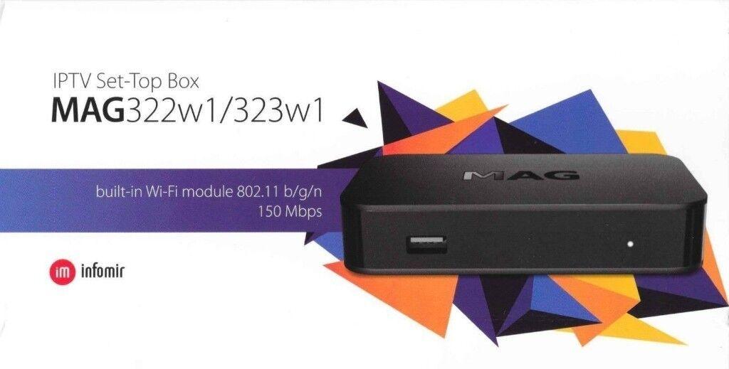 MAG 322 W1 * IPTV * 100% Genuine * FULL WORLD HD PACKAGE * Wont Find  Better* | in Birmingham City Centre, West Midlands | Gumtree