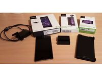 Sony Xperia Z2 mint condition in box with charger, official magnetic dock & new official case!!